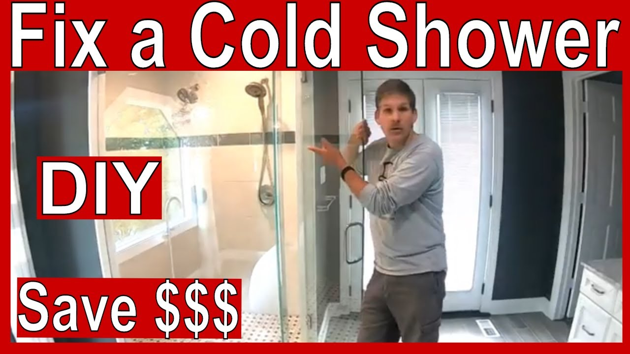 No Hot Water In Shower But Hot Water In Sink Youtube