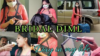 BRIDAL DAY VLOG| BRIDAL DAY IN MY LIFE|MY WORK