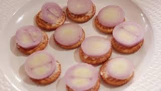 Monaco Biscuits Pizza - Quick & Tasty Snacks - Sandhya