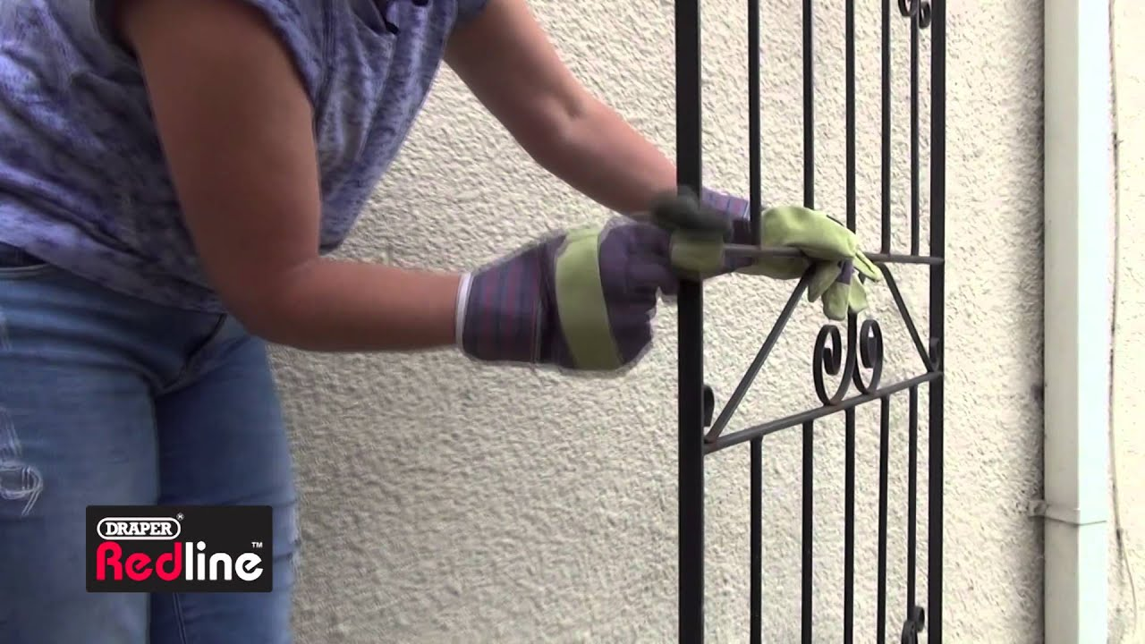 How to paint a rusty gate