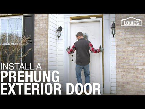 How To Install A Prehung Exterior Door