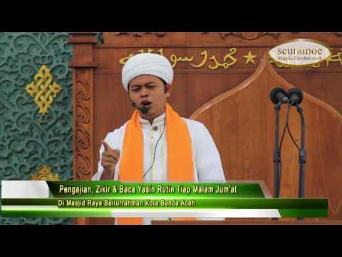 Tausiah Syaikh Muda Tuanku Tgk  Samunzir bin Husein di Masjid Raya Baiturrahman   Copy
