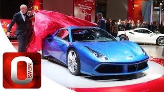 Ferrari 488 Spider Ferrari at Frankfurt IAA [HD] (Option Auto News)