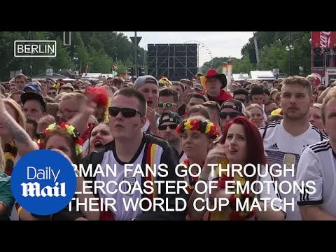 England and Germany fans reacted to Ozil and co's World Cup exit - Daily Mail