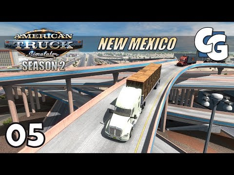 ATS S02E05 - New Mexico Musical Road - American Truck Simulator New Mexico Let's Play