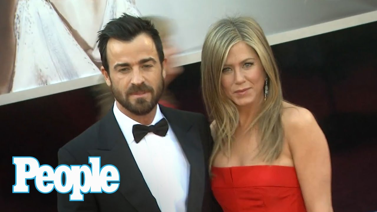 Jennifer Aniston Marriage The On Train With Justin Theroux People Now You