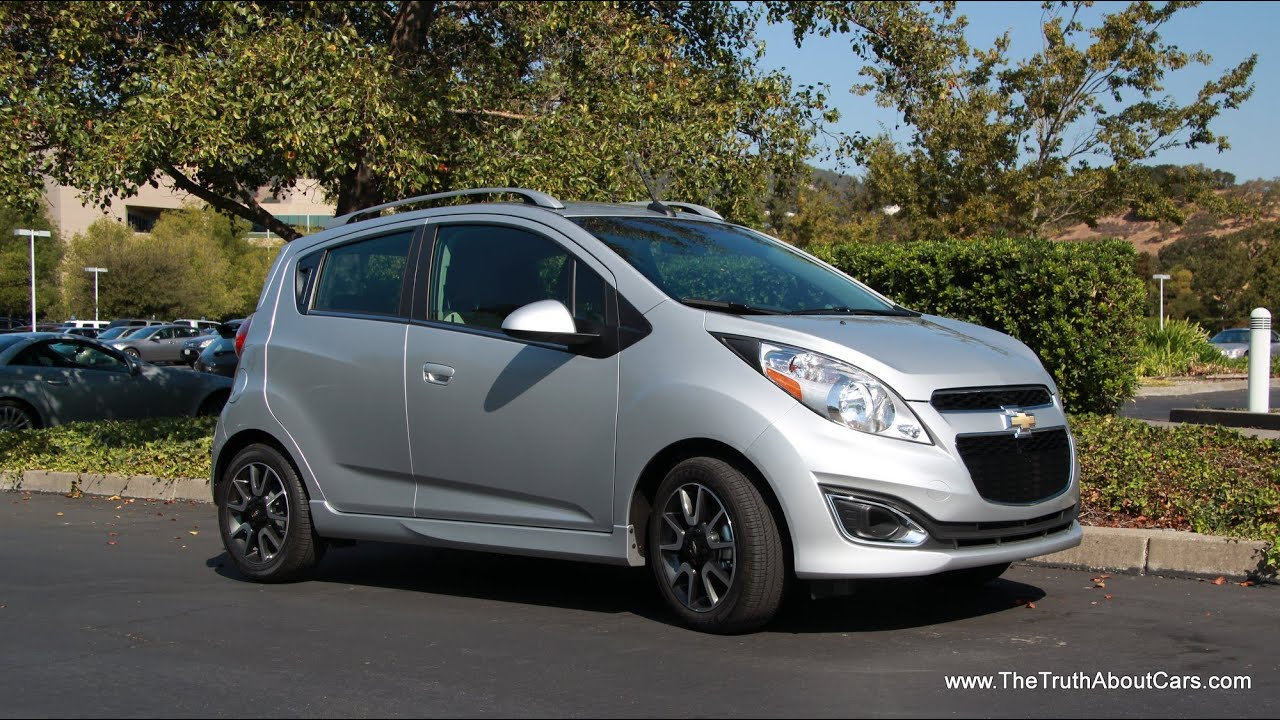2013 Chevy Spark Quick Review Youtube