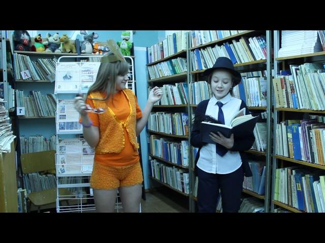 Изображение предпросмотра прочтения – «Ученицы 5 Б класса» читает произведение «Мартышка и очки» И.А.Крылова