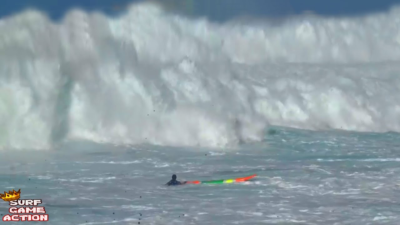 Surfers caught inside massive waves - HOLD YOUR BREATH 3 (only new footage)