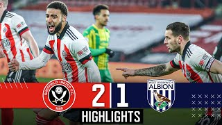 Sheffield United 2-1 West Brom | EPL Premier League Highlights | BOGLE & SHARP DOWN BAGGIES 🔥