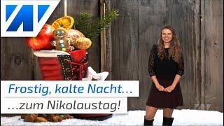 Nikolaus bringt drastische Wetteränderung! (Mod.: Adrienne Jeske)