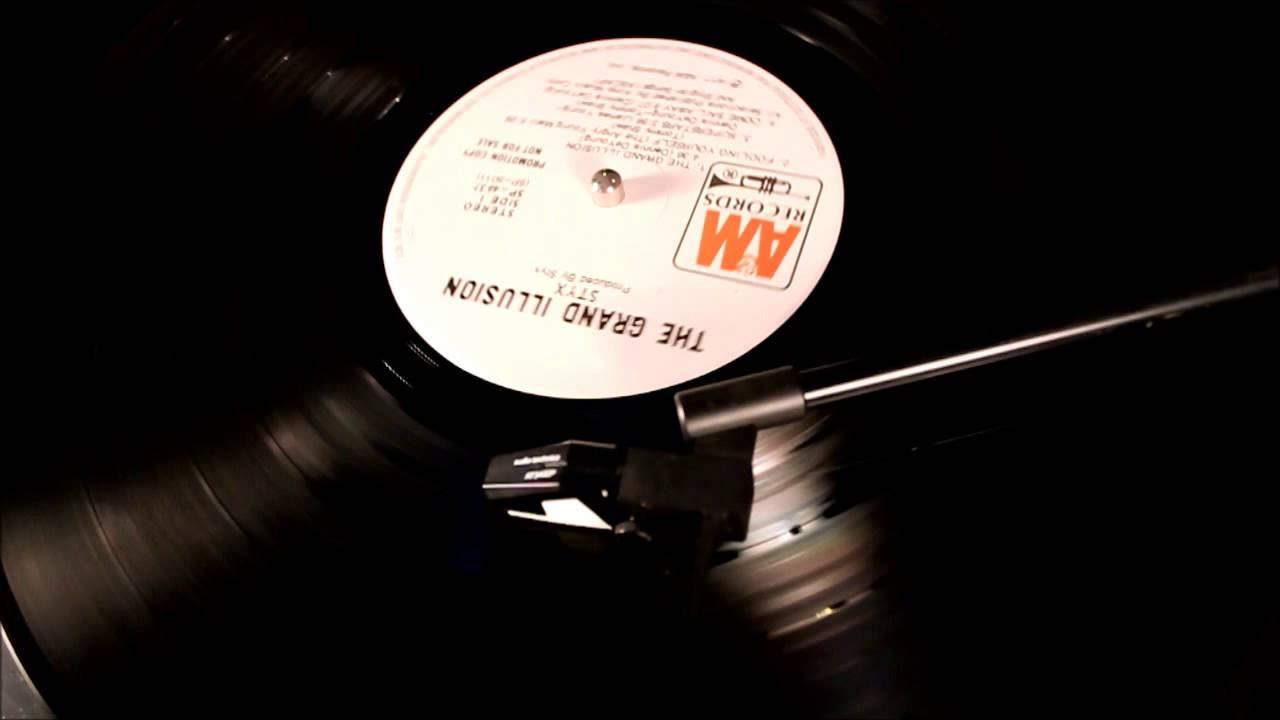 styx come sail away vinyl rip youtube