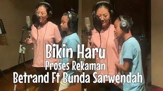 Betrand Peto Ft Bunda Sarwendah - Kamu Berhak Bahagia - Proses Recording