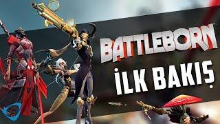 Battleborn Gameplay Türkçe | İlk Bakış