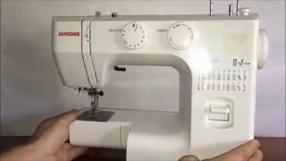 швейная машина, оверлок Janome Juno 523 обзор