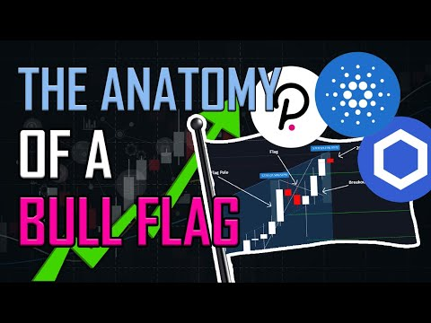 HOW TO TRADE A BULL FLAG 🚩 (CURRENTLY ON LINK, DOT AND ADA)