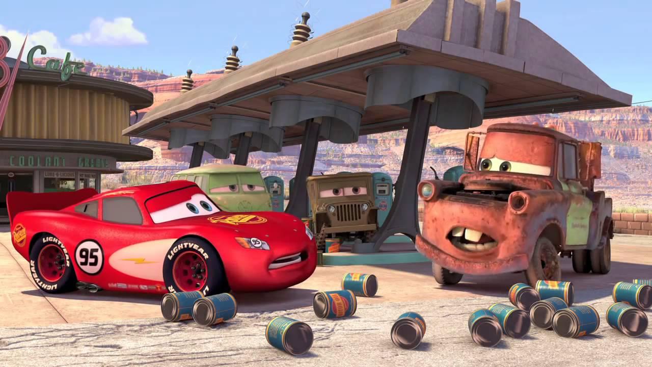 Pixar Cars Game Trailer