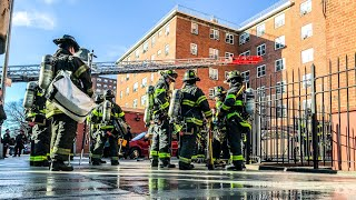| EARLY-ARRIVAL - Box 1347 | Major 10-77 All-Hands Fire Tears Thru 3rd Floor Apt; 112 St & 3rd Ave