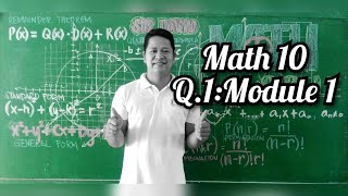 Mathematics 10/Q1/Module 1/Video Lesson