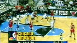Chicago Bulls - Orlando Magic | 1996 Playoffs | ECF Game 4: Jordan seals the sweep