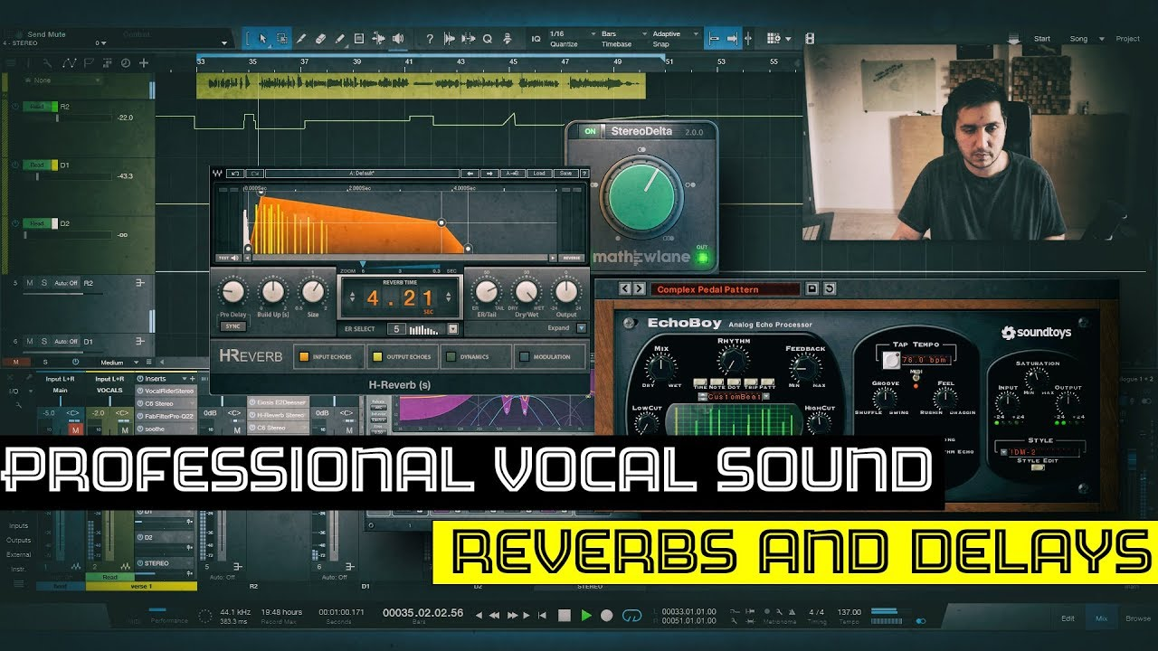 Make your vocals sound professional | Mixing Tutorial