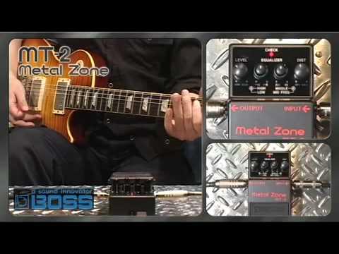 MT-2 Metal Zone [BOSS Sound Check]