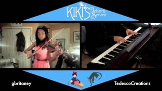 Kiki's Delivery Service -  A Town With An Ocean View Violin And Piano