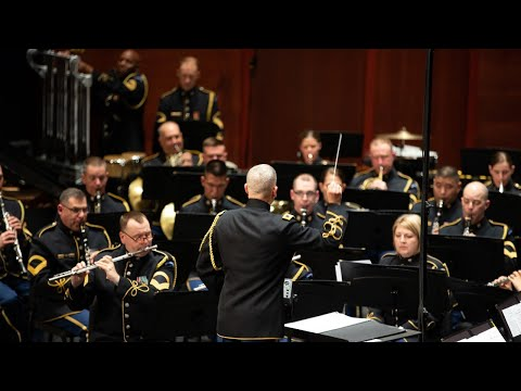 The U.S. Army Concert Band At Schlesinger Hall