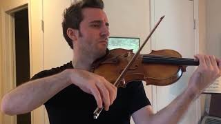 "Eugène Ysaÿe - Malinconia from Sonata for Solo Violin, Op. 27, No. 2 ""Jacques Thibaud"""