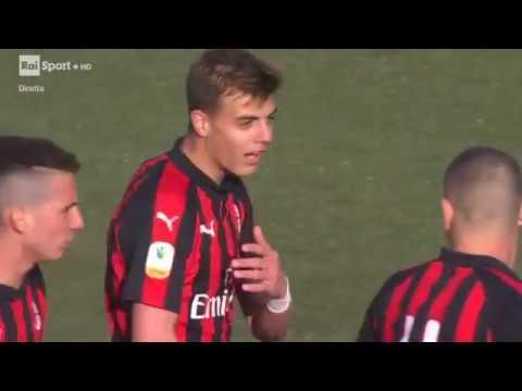 Daniel Maldini goals vs Spezia [2019]