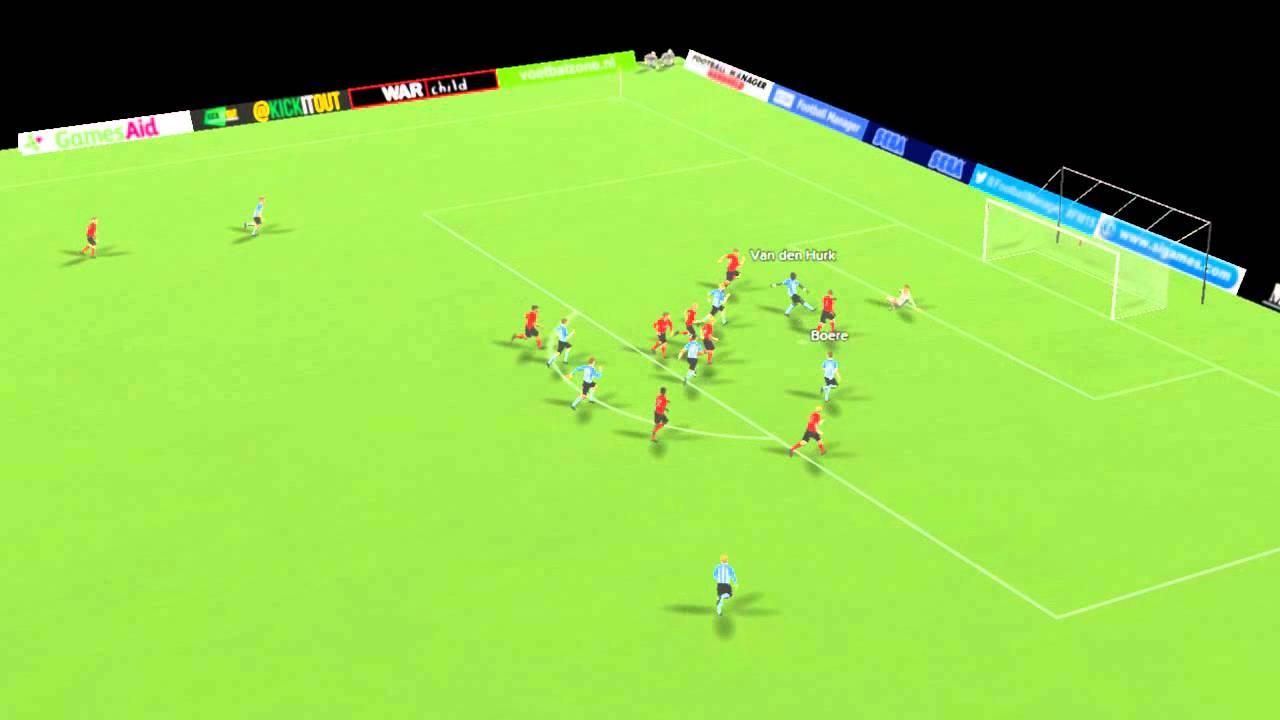 Helmond Sport Vs Fc Eindhoven Van Den Hurk Goal 24 Minutes Youtube
