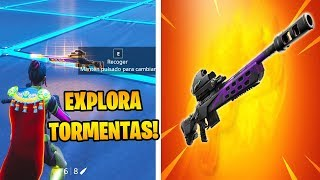 BUG to GET THE NEW TIRADOR FUSIL EXPLORES STORMS IN FORTNITE!! 😱