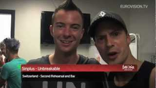 Sinplus - Unbreakable (Switzerland) 2nd Rehearsal and Backstage