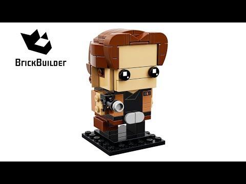 Lego BrickHeadz 41608 Han Solo - Lego Speed Build