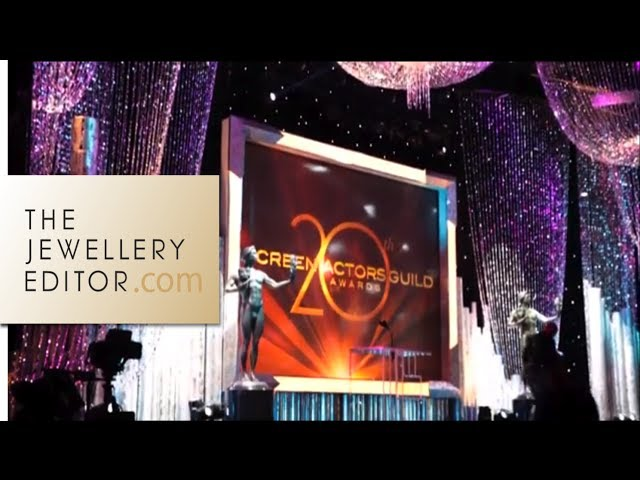 Red Carpet jewellery: behind the scenes at the SAGS, LA