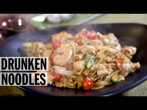 Drunken Noodles How-To with Jet Tila | Food Network