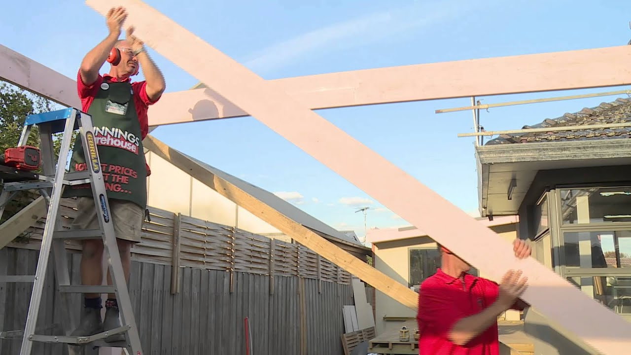 What To Do Before Building A Carport Diy At Bunnings Youtube