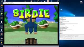 Mario Golf. Justase Vs. Maphio (N64 kaillera netplay)