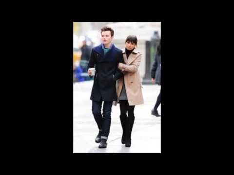 is rachel berry dating finn in real life