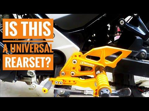 Boushi Single Shifter v2 Installation Part2   Suzuki Raider 150 Carb