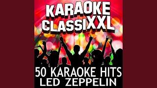 Night Flight (Karaoke Version) (Originally Performed By Led Zeppelin)