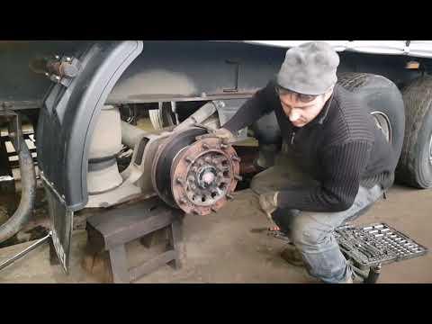 Замена тормозных дисков SAF