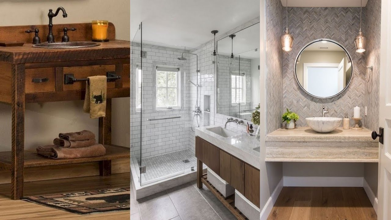 20 Framed Bathroom Mirror Ideas For