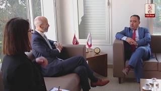 لقاء السيد سامي بن جنات مع سعادة سفير كندا بتونس