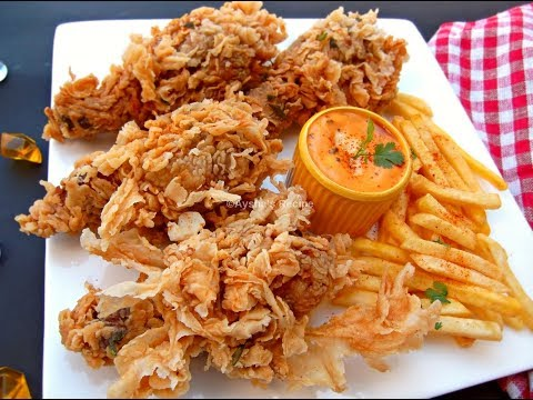 ফ্রাইড চিকেন রেসিপি || Perfect Crispy  Fried Chicken || The Easiest  Fried Chicken Recipe