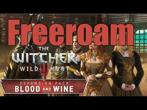 The Witcher 3: Blood and Wine - Freeroam Livestream