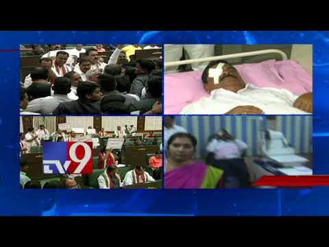 Komatireddy's missile hurts TRS Swamy Goud in Assembly  - TV9 Today