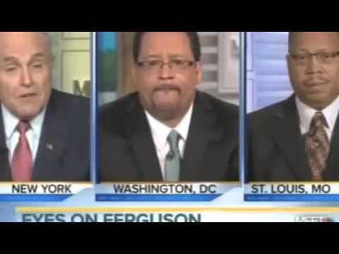 Rudy Giuliani battles racebaiter Michael Eric Dyson over black on black murders