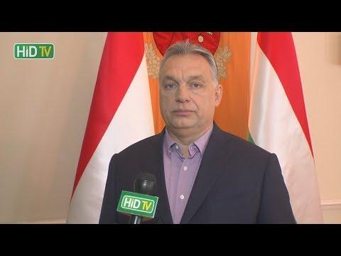 Exkluzív interjú Orbán Viktorral