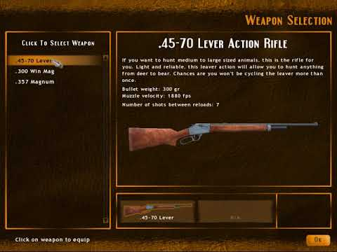 HUNTING UNLIMITED 2010 TIER #1 PART #1 |